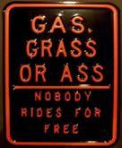 Garage Sign 42