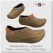 Blackburns Wooden Shoes 3 Pair Set