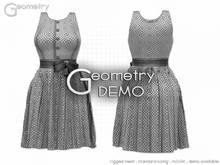 <Geometry DEMO> Sweetheart ( rigged mesh in standard sizing )