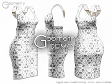 <Geometry> Chic Fleur > DEMO ( rigged mesh in standard sizing )