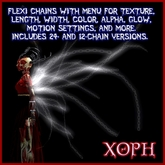 Spine Chains (Chain Tentacles, Tentacle Wings) with Appearance and Behavior Menus HAPPY HALLOWEEN