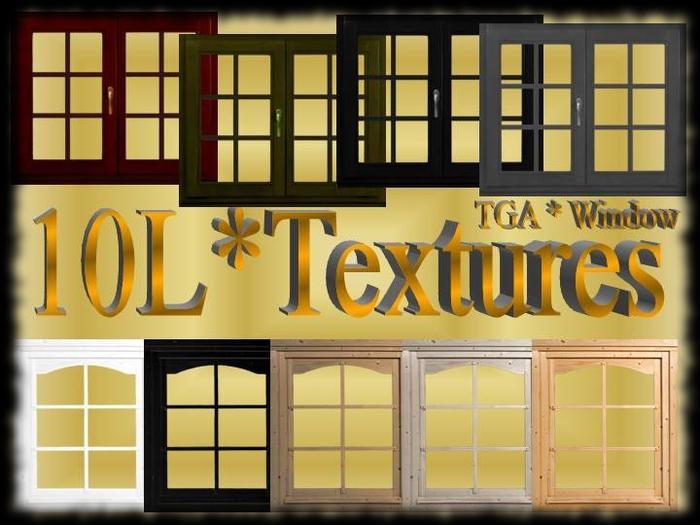 Wood Window Textures Full Perm