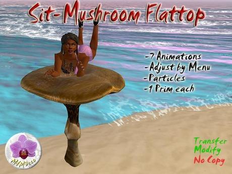 Mushroom Chair Flatttop