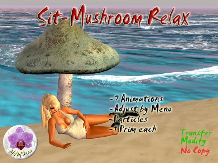 Mushroom Chair Relaxed