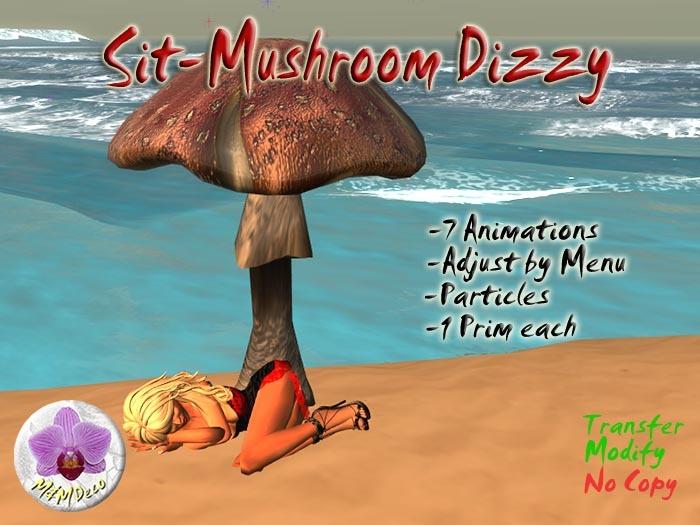 Mushroom Chair Dizzy