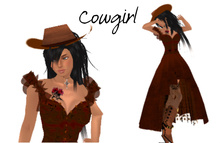Stella - Cowgirl Full Avatar