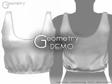 <Geometry> Petunia Crop > DEMO ( rigged mesh in standard sizing )