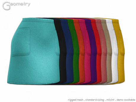 Geometry > Oxford skirt > All Colors  ( rigged mesh in standard sizing )