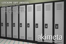 [ Akimeta ] Lockers (white)