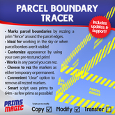 SPECIAL PRICE! ✮ PARCEL BOUNDARY TRACER ✮