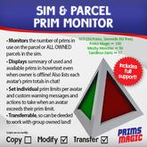 NEW PRODUCT! ✮ SIM & PARCEL PRIM MONITOR ✮