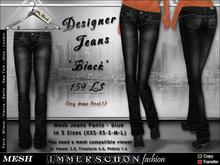 Immerschoen Girl - MESH Jeans 'BLACK'