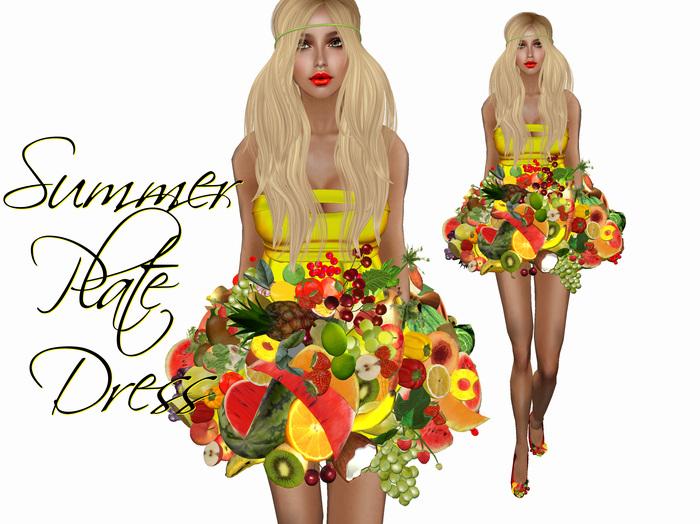 Boudoir -Summer Plate Dress