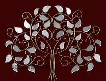Elegant Mirrored Tree