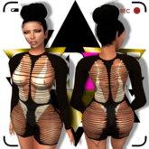 G A R B A G E - Slash Out Dress