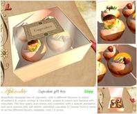 Aphrodite cupcakes gift box (boxed)