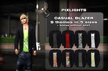 DEMO Pixlights casual blazer DEMO