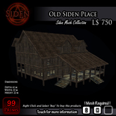 Old Siden Place (Shell only)