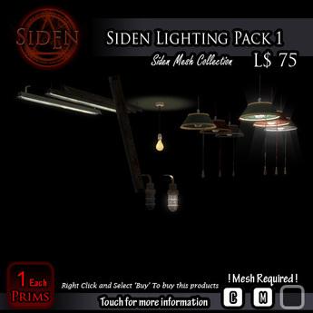 Siden Lighting Pack 1