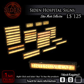 Siden Hospital Signs