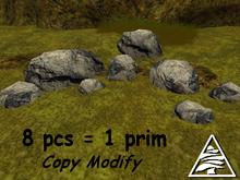 stones I. 8 pcs = 1 prim