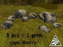 stones II. 8 pcs = 1 prim