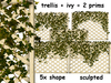 5x Trellis with ivy MODIFY COPY