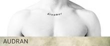 AUDRAN Unisex Collarbone Tattoo 'Dreamer'