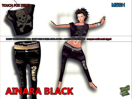 ..::Knockout!..:: AINARA BLACK MESH