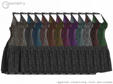 <Geometry> Odile > All Colors ( rigged mesh in standard sizing )
