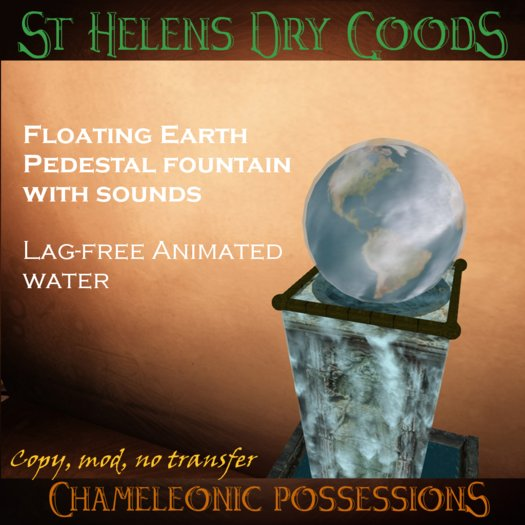 @LC@ Floating Earth Goddess Fountain