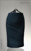 KIM- Monna Mesh Skirts-Blue