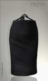 KIM- Monna Mesh Skirts-Black