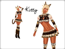 Kitty - Sexy Cat Outfit & Boots