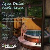 **Zinnias* Agua Dulce Bath House