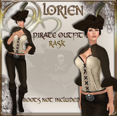 LORIEN PIRATE OUTFIT RASK