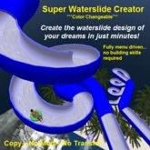 Super Waterslide Creator ***Color Changeable***