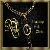 Teardrop Necklace - Gold (Boxed)