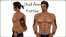 Skull - Arm Tattoo