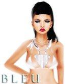 - B L E U - Dolly's Ram Necklace w/ optional chains *SILVER*