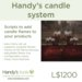 Handy's candle system