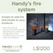 Handy's fire system