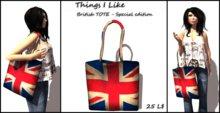 Things I Like - British TOTE Bag