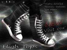 :: db :: High Tops #7 Unisex Boots - Walker
