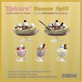 "[CIRCA] - ""Epicure"" Banana Split -Vanilla/Choco/Berry (Food Giver)"