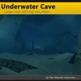 [FYI] Underwater Cave With Mountain; Submerged cavern and grotto for oceans, seas, and lakes.
