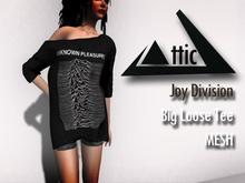 -ATTIC- Joy Division Big Loose Tee