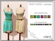 MIEL REGATTA DRESS - solid bright (MESH)
