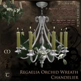 Regaelia Orchid Wreath Chandelier [TRANSFER/no copy] (WAS $245 -> NOW ONLY $60!)