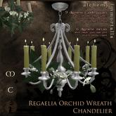Regaelia Orchid Wreath Chandelier [COPY/no transfer] (WAS $245 -> NOW ONLY $60!)